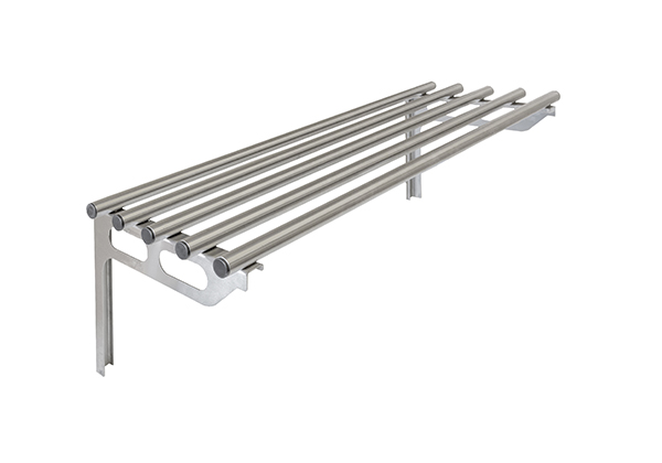 Ps 1200 Pipe Shelf 1200mm Staybrite Stainless Fabricators